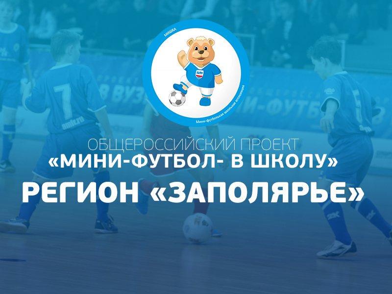 Мини-футбол - в школу. Регион Заполярье